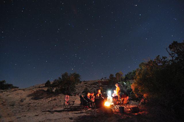 Campfire Ben Johnson
